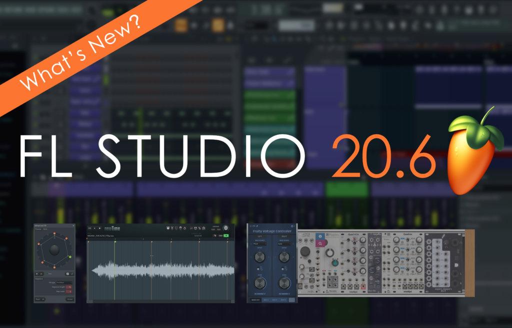 FL Studio 20.6 adds CV support and SoundCloud export