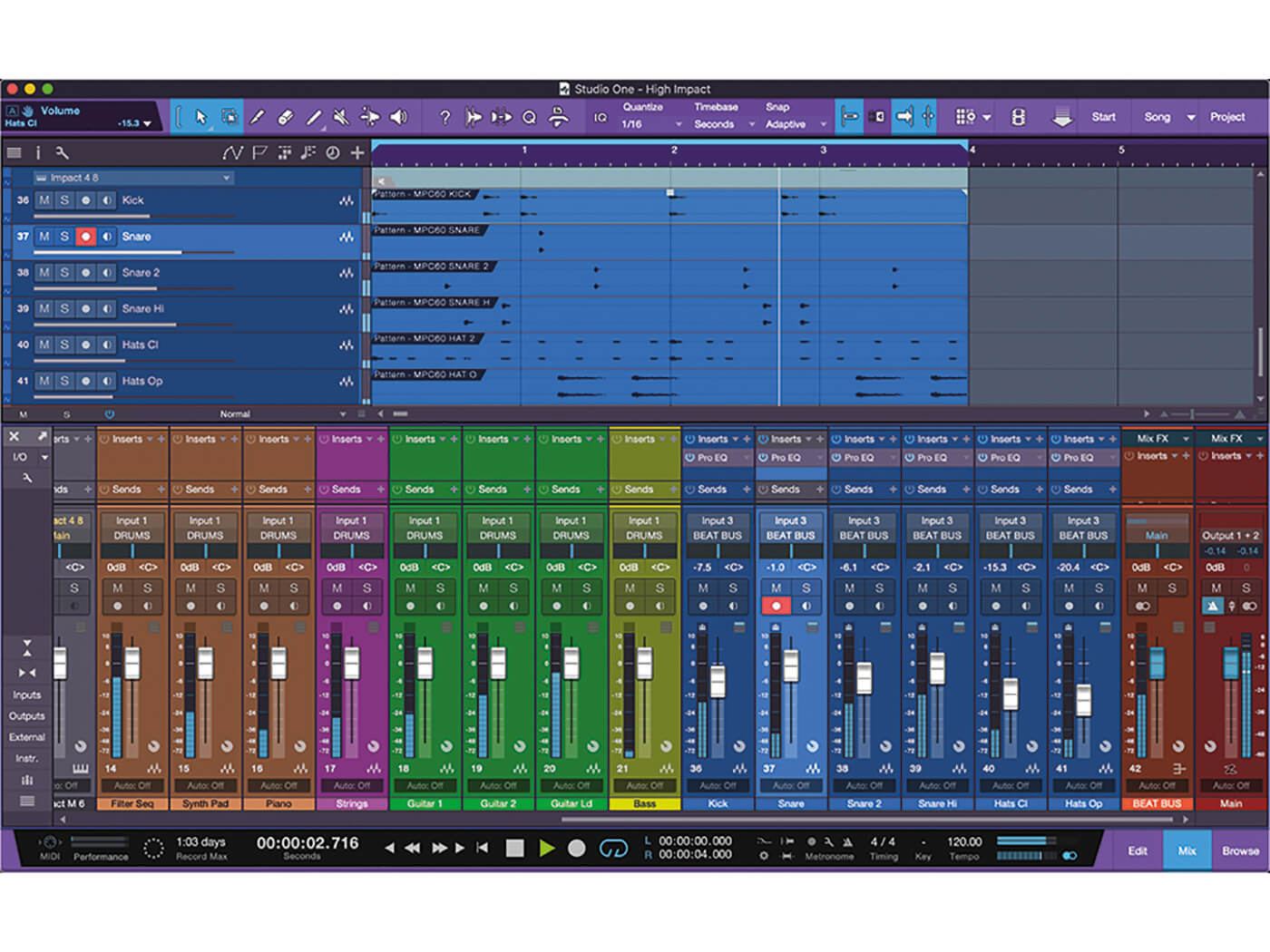 Studio One MT Making An Impact With Impact XT Step 18