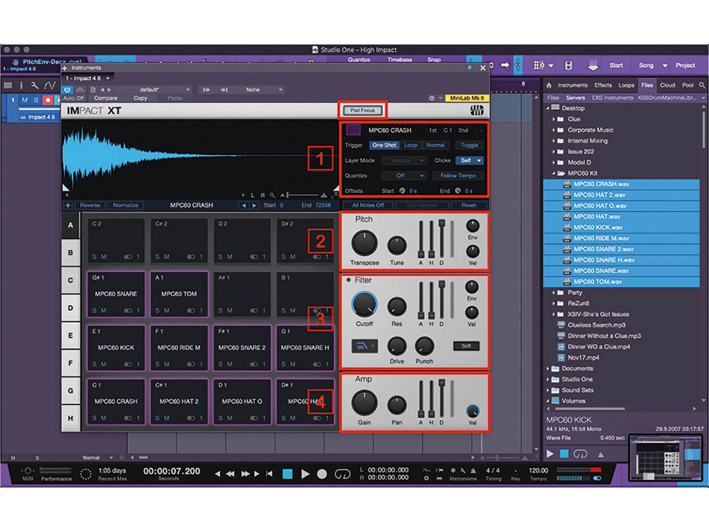 Studio One MT Making An Impact With Impact XT Step 7
