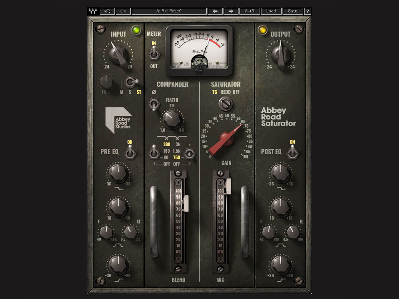 Waves Audio Abbey Road Saturator