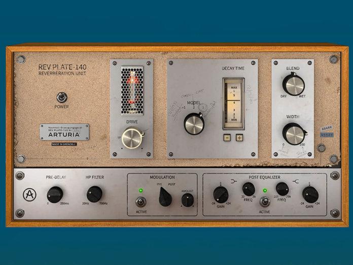 Arturia Free plate reverb plug-in
