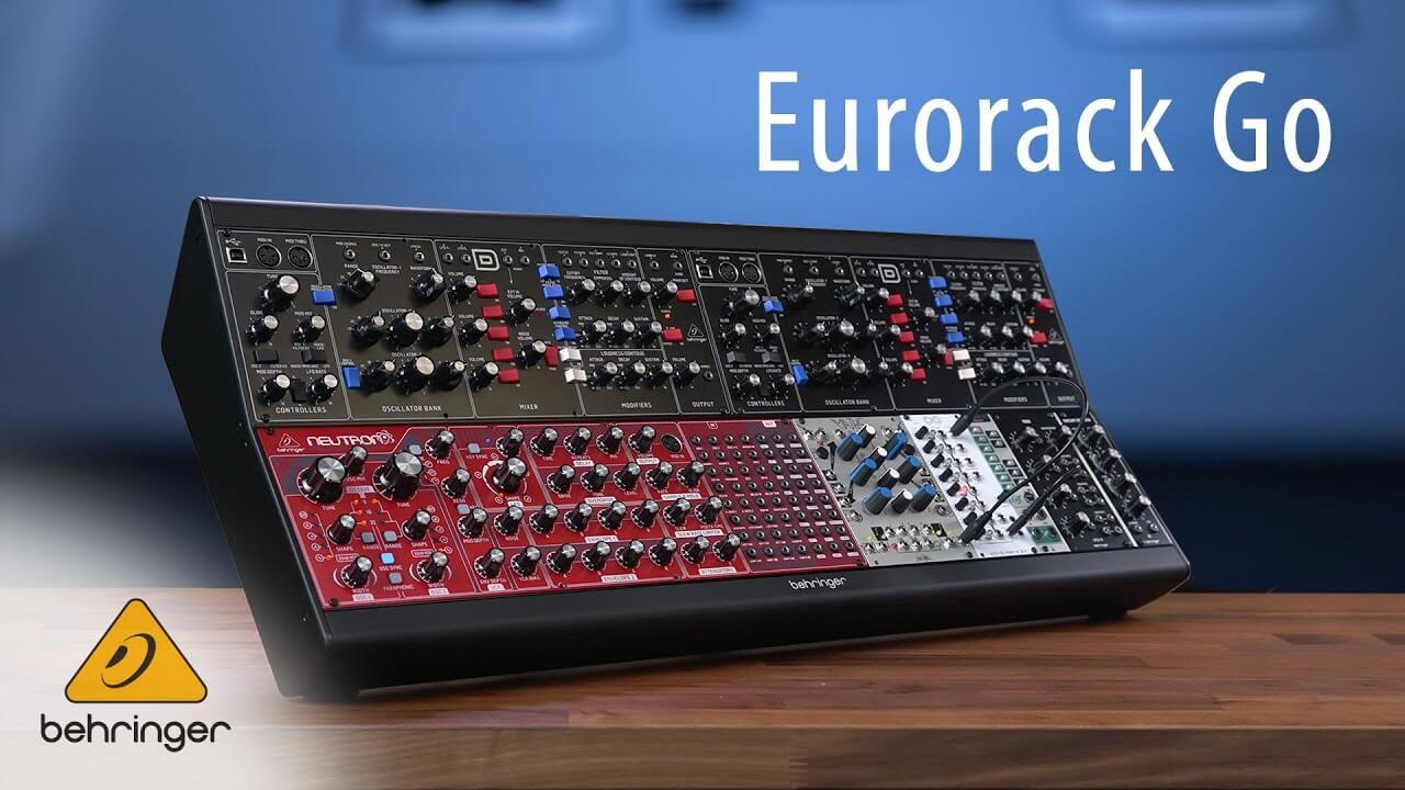 Behringer unveils Eurorack Go modular synth case - MusicTech