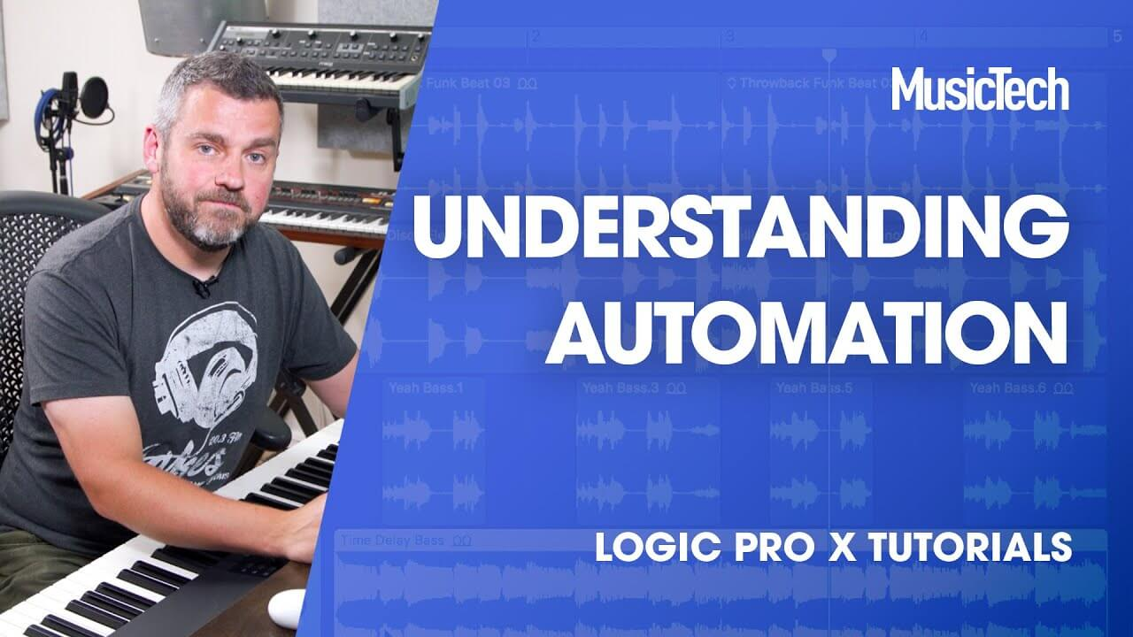 Understand Automation in this episode of Logic Tips - MusicTech