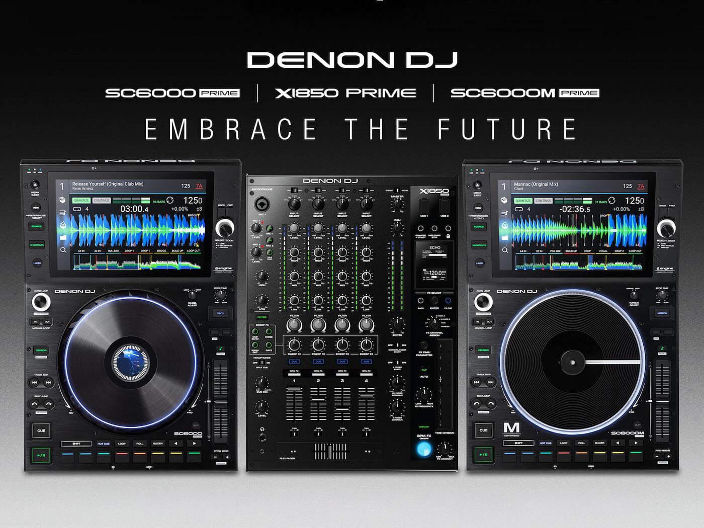 Denon DJ Prime NAMM