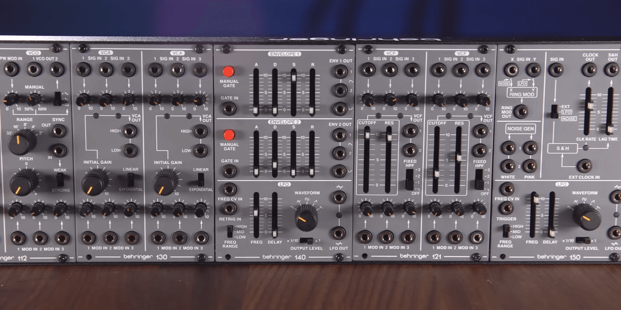 NAMM 2020 Video: Behringer just announced an entire modular rig at an affordable price