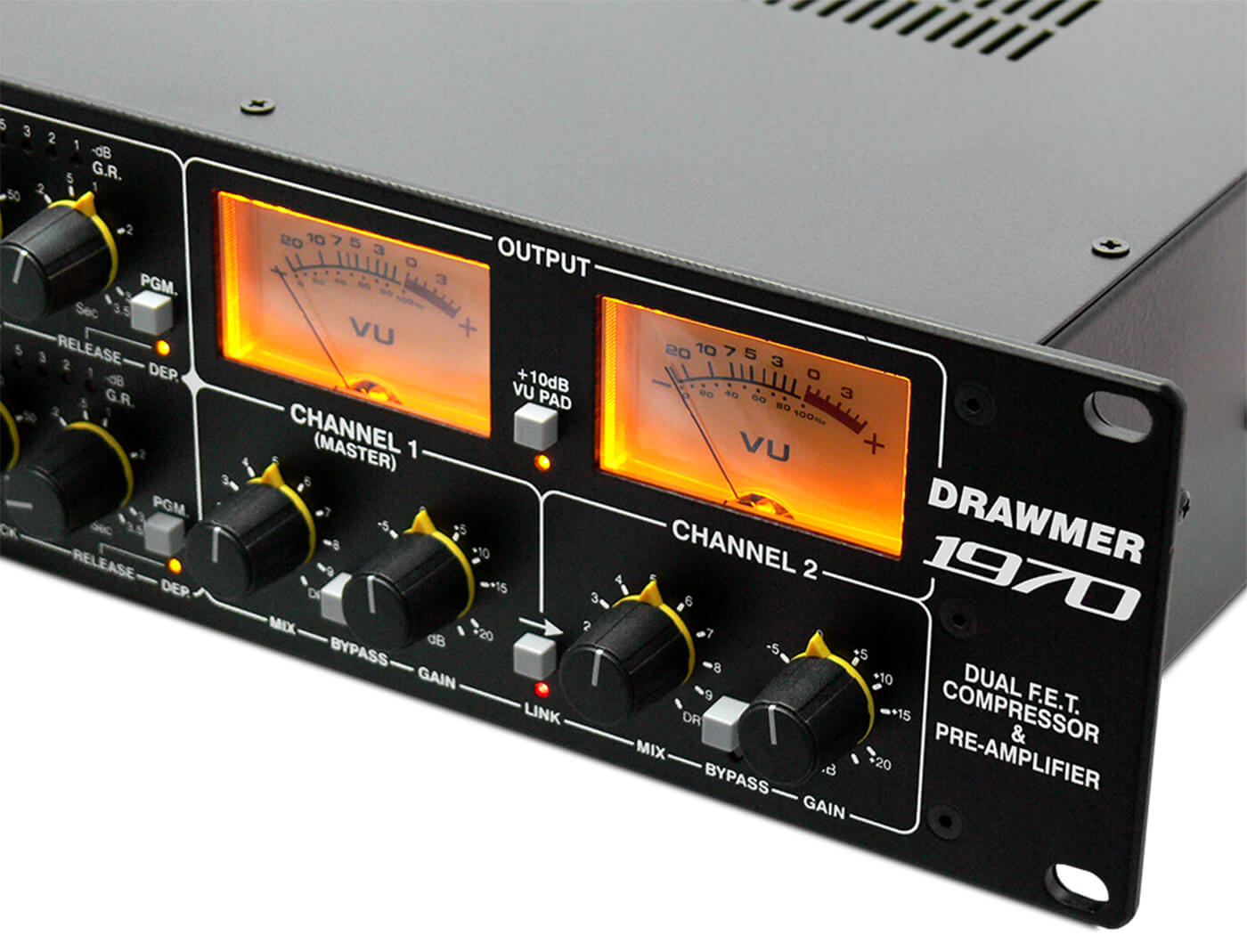 NAMM 2020: Drawmer releases the 1970 Dual FET Compressor And Pre-amplifier - MusicTech