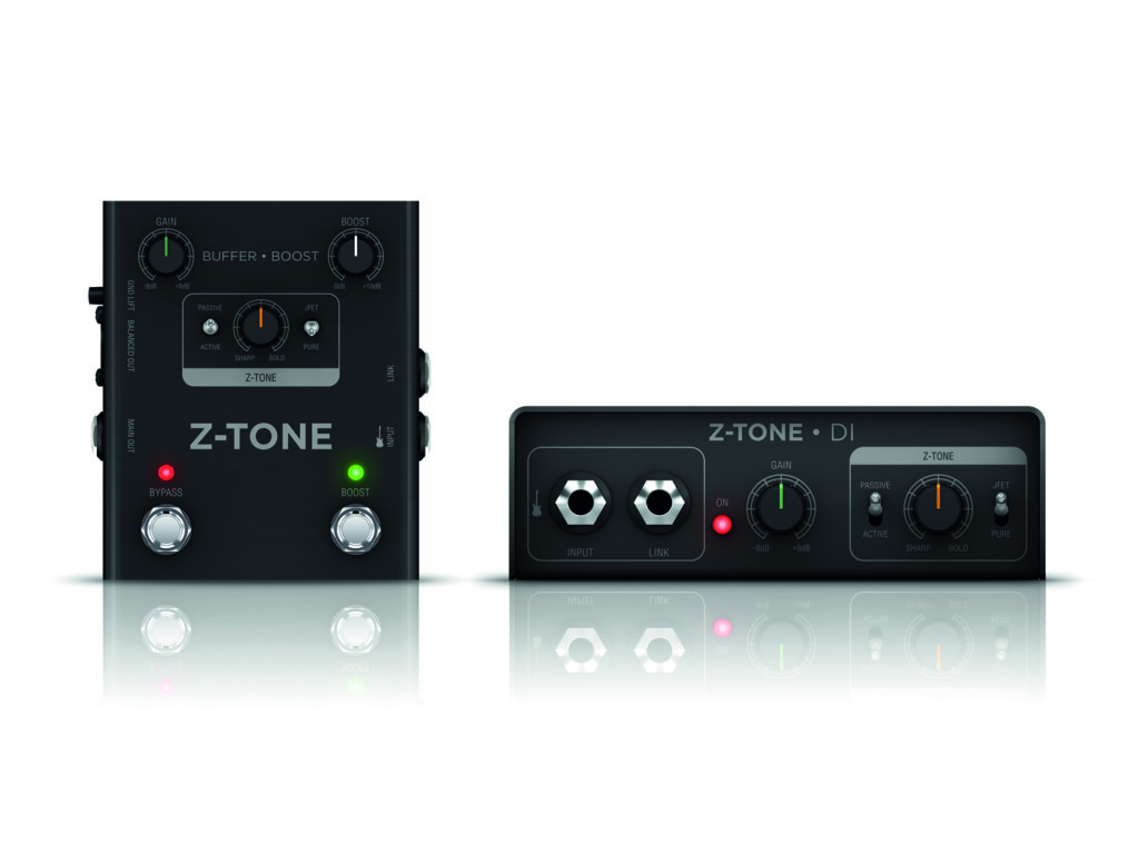 IK Multimedia's new Z-Tone Buffer Booster, launched at NAMM 2020