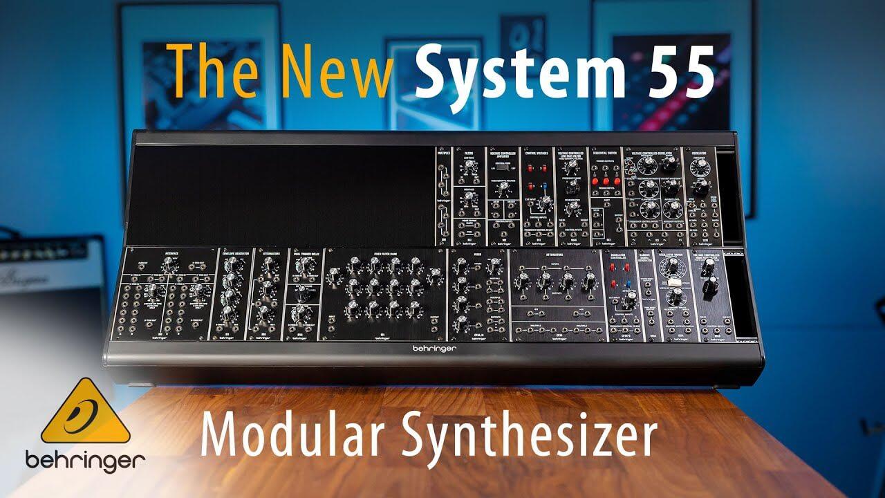 Behringer clones over 20 Moog modules for Eurorack