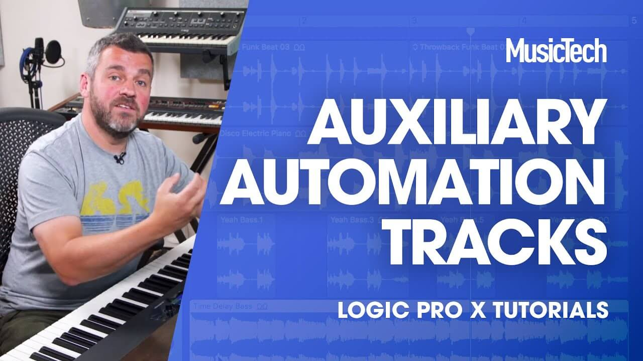 Go further with auxiliary sends using automation in our new Logic Pro Tips episode