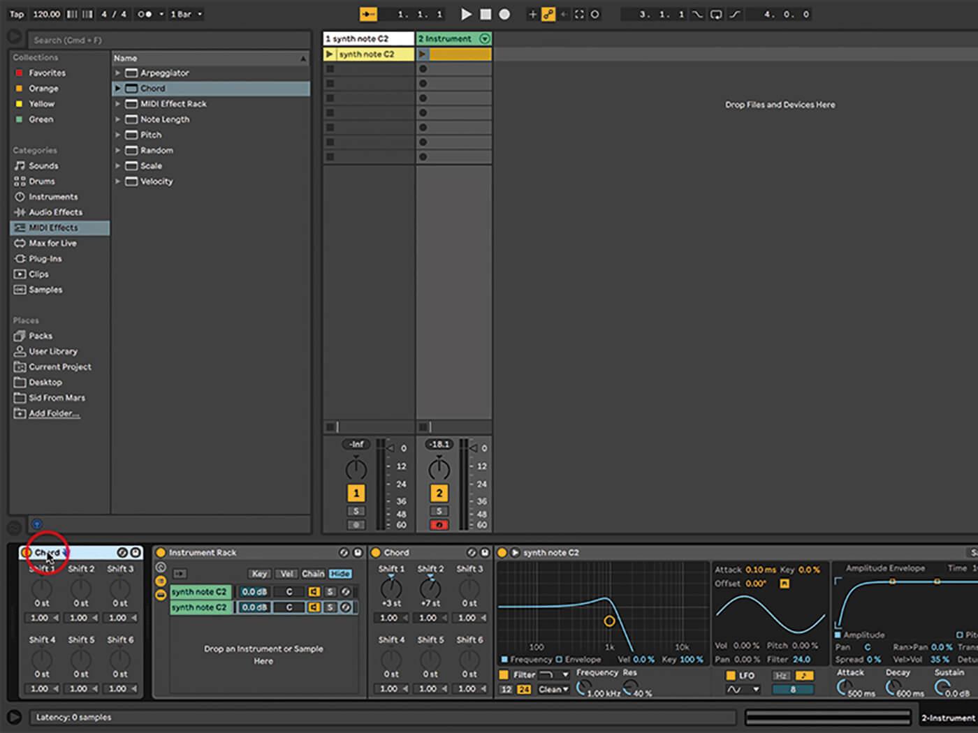 Ableton Live Walkthrough 16