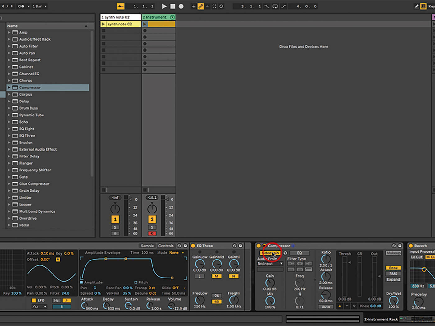 Ableton Live Walkthrough 17