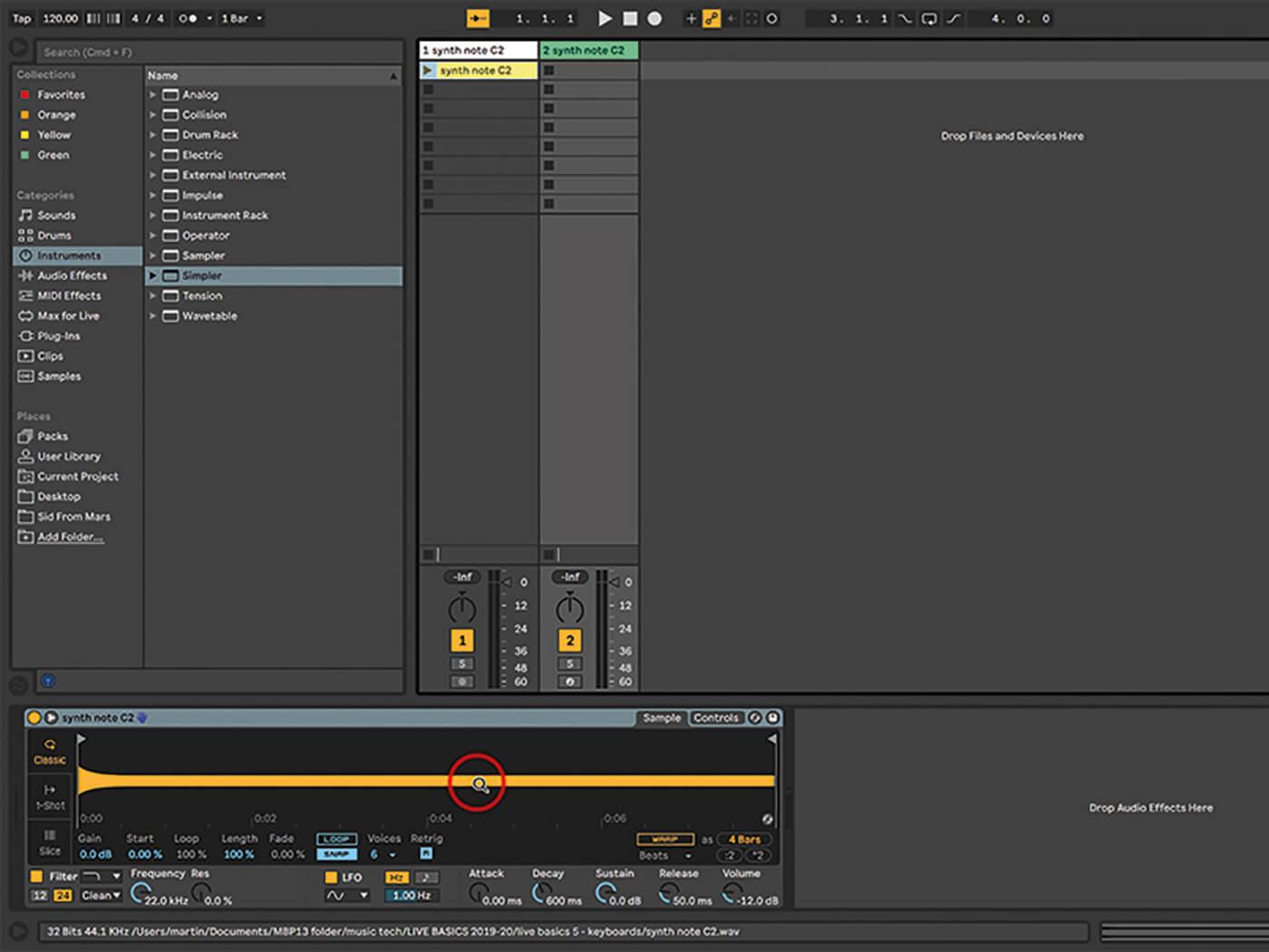 Ableton Live Walkthrough 3
