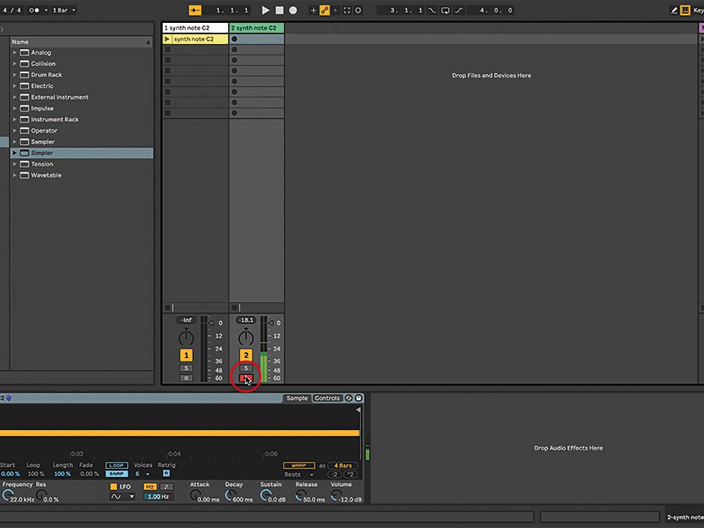 Ableton Live Walkthrough 4