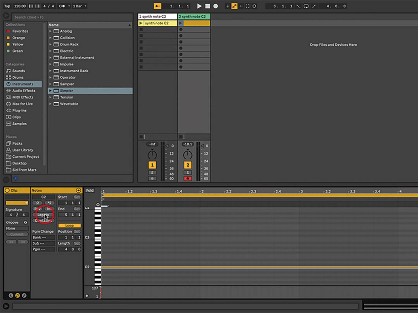 Ableton Live Walkthrough 6