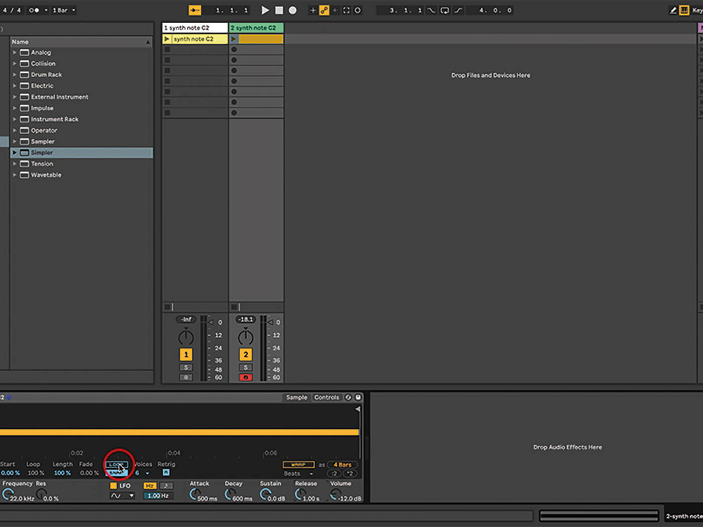 Ableton Live Walkthrough 8