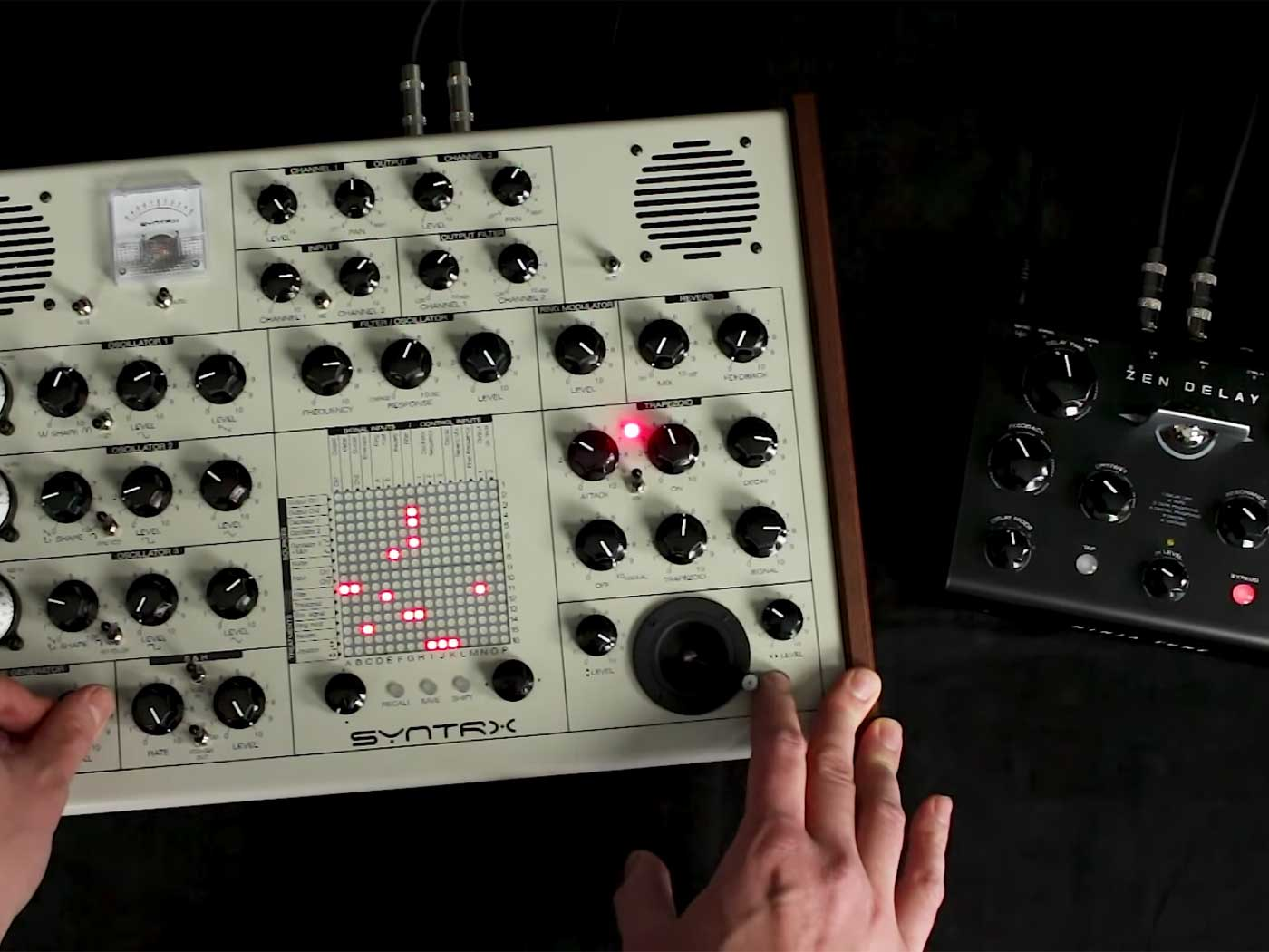 Listen to Erica Synths' SYNTRX, inspired by EMS Synthi AKS - MusicTech