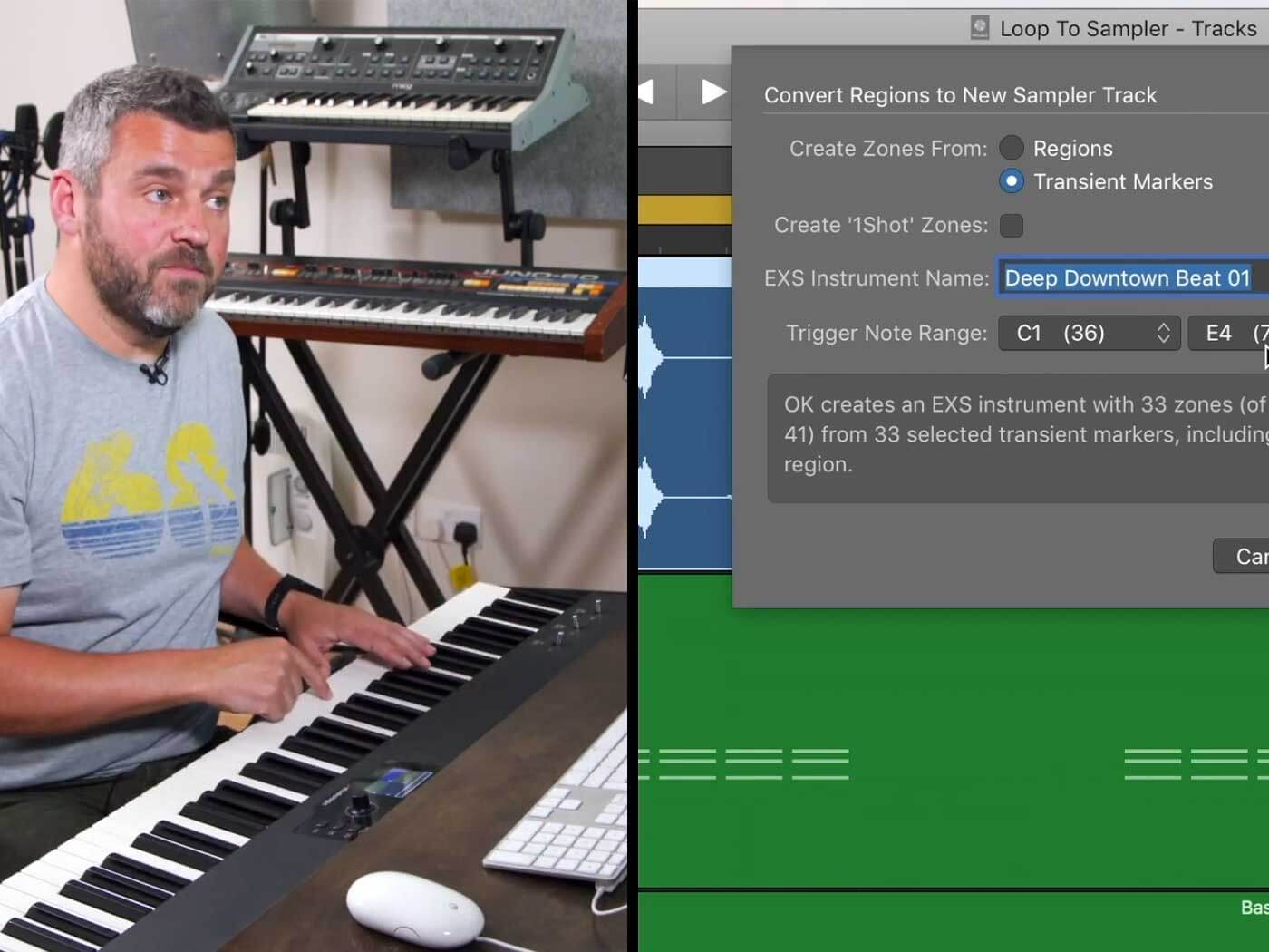 Learn to chop up and rearrange audio with EXS24 in Logic Pro X - MusicTech