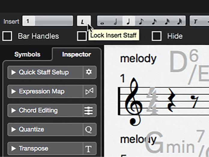 MT 205 Cubase Score Editor Step 11