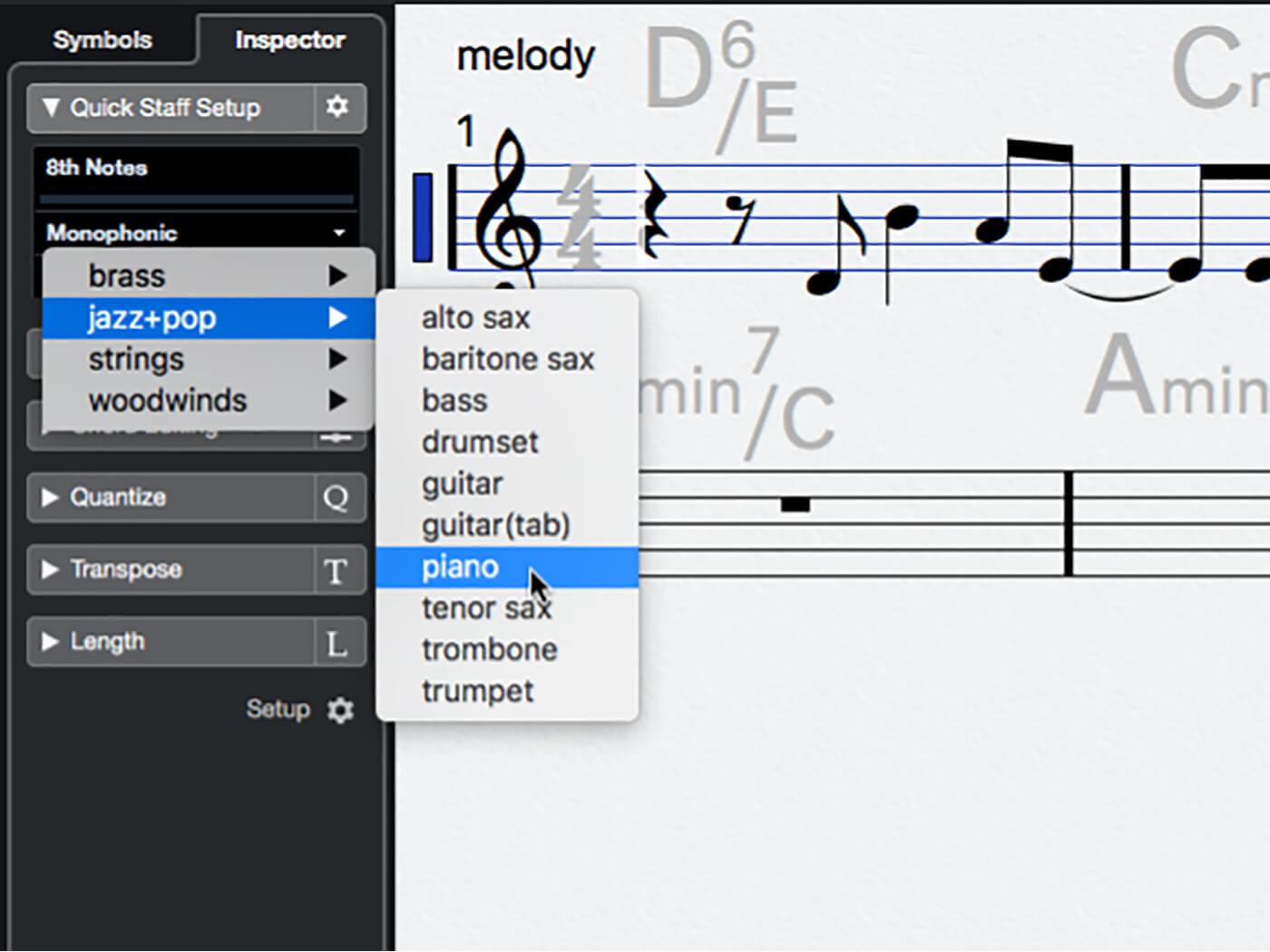 MT 205 Cubase Score Editor Step 12
