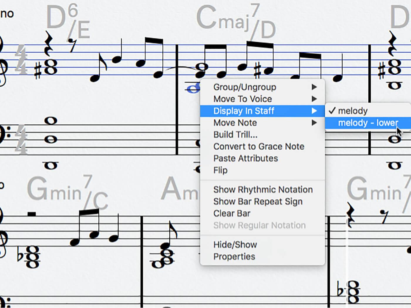 MT 205 Cubase Score Editor Step 17