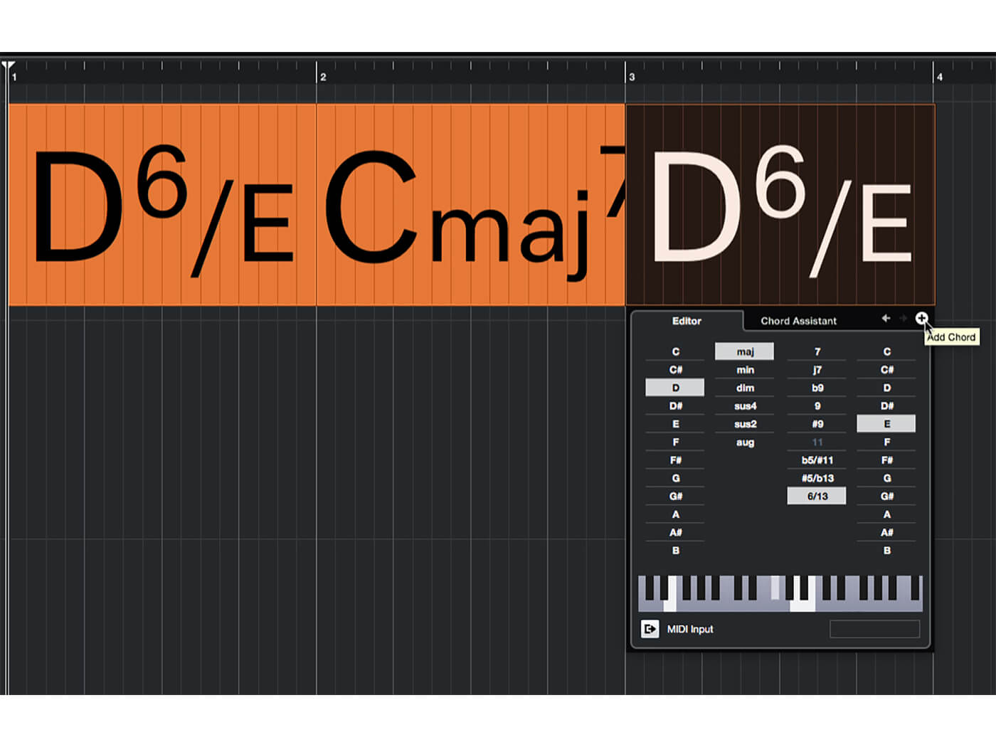 MT 205 Cubase Score Editor Step 4