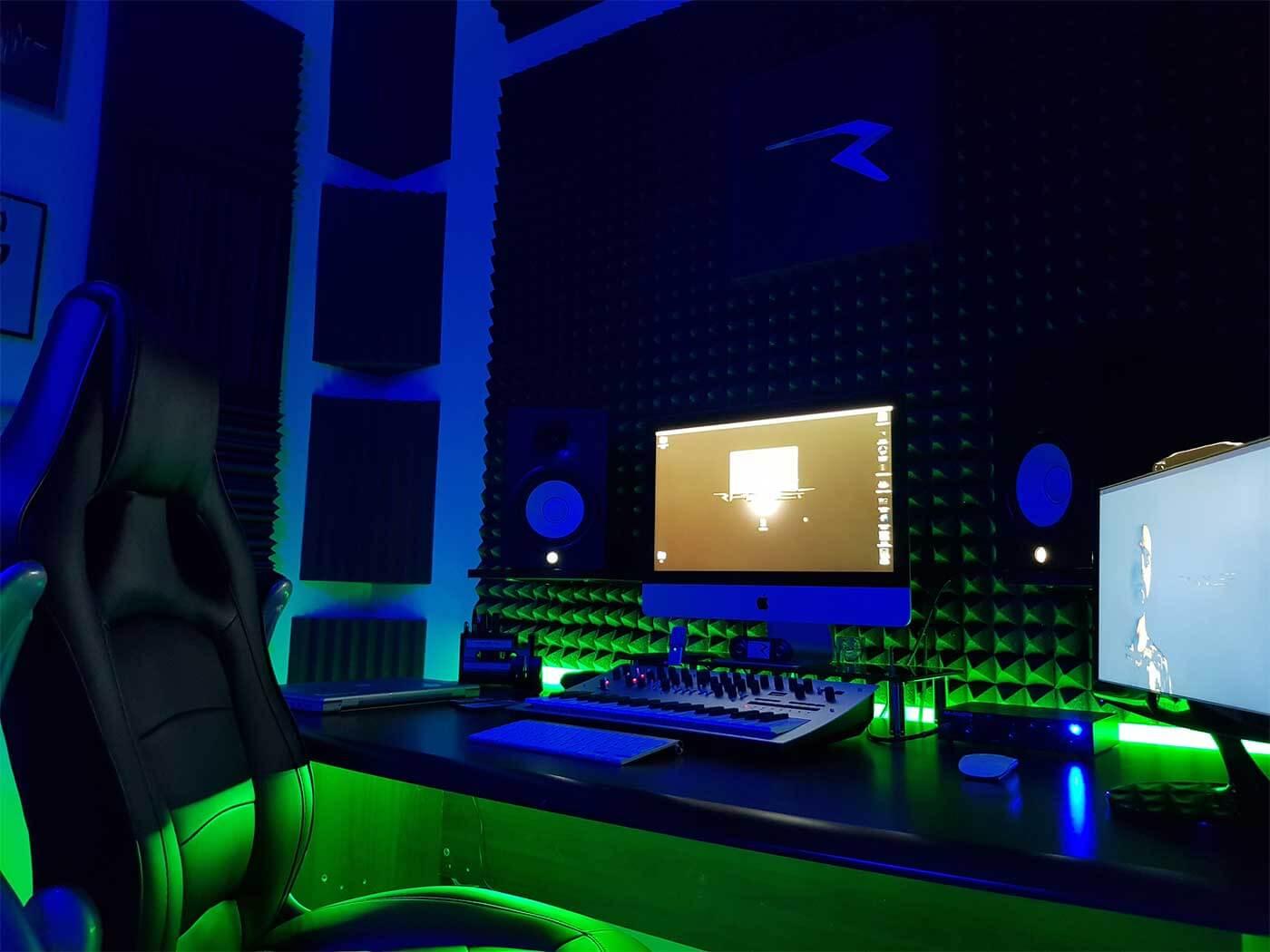 Show Off Your Studio: Rhalef's Italian techno hideout - MusicTech