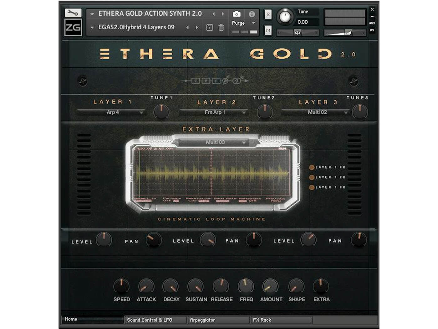 Ethera Gold 2 Synth