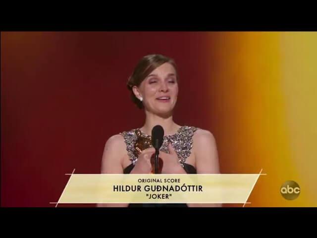 Hildur Guðnadóttir becomes the first female to win an Oscar for Original Score in 23 years - MusicTech