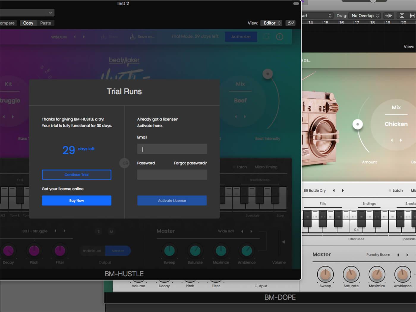 Ujam Beatmaker 2 Activating License