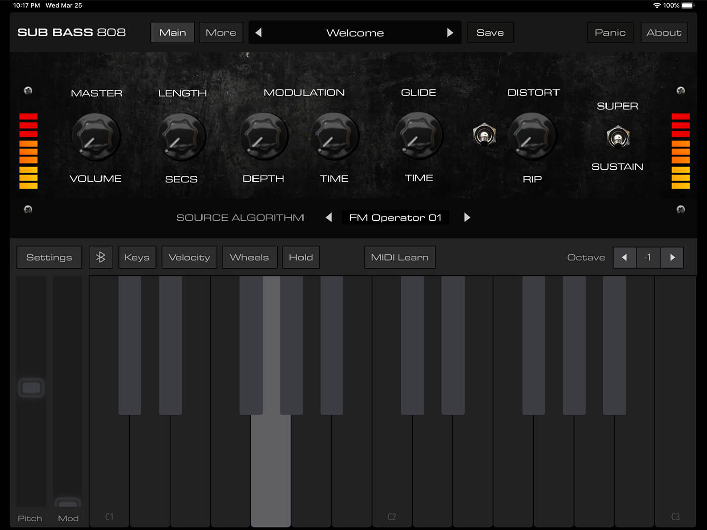 Audiokit Bass 808 is an iOS drum designer – but it's not around forever | MusicTech