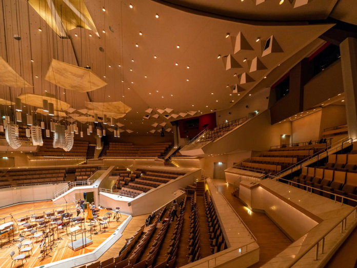 Berliner Philharmonie concert hall