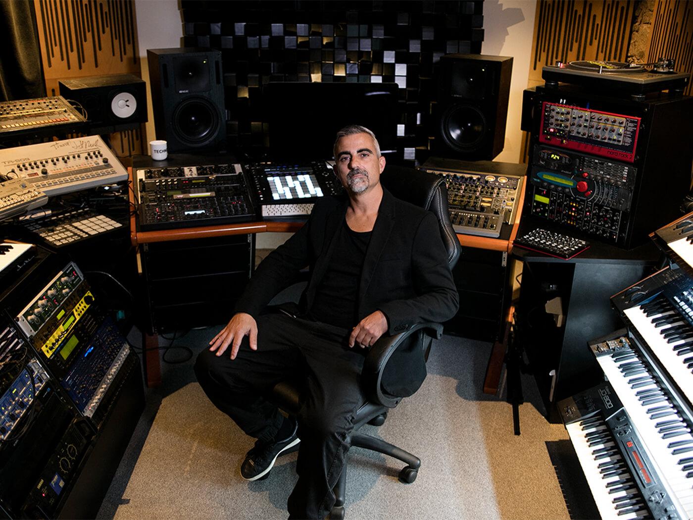 Show Off Your Studio: Techno veteran Gaetano Parisio's radiant rhythm room - MusicTech