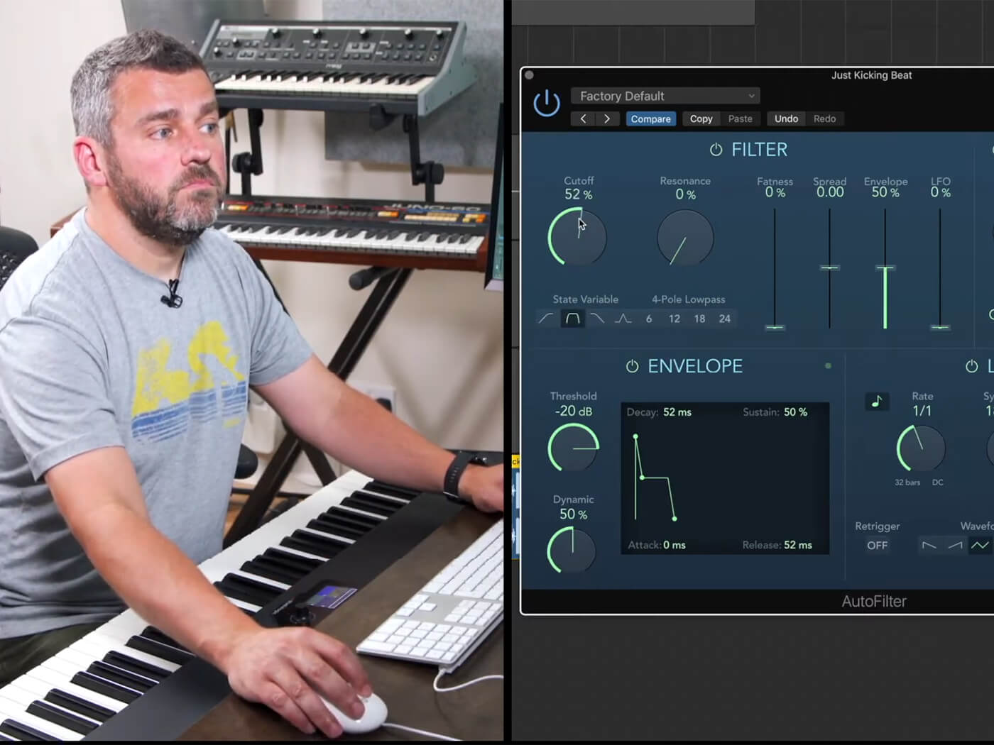 Using the AutoFilter to morph your sounds in Logic Pro X - MusicTech