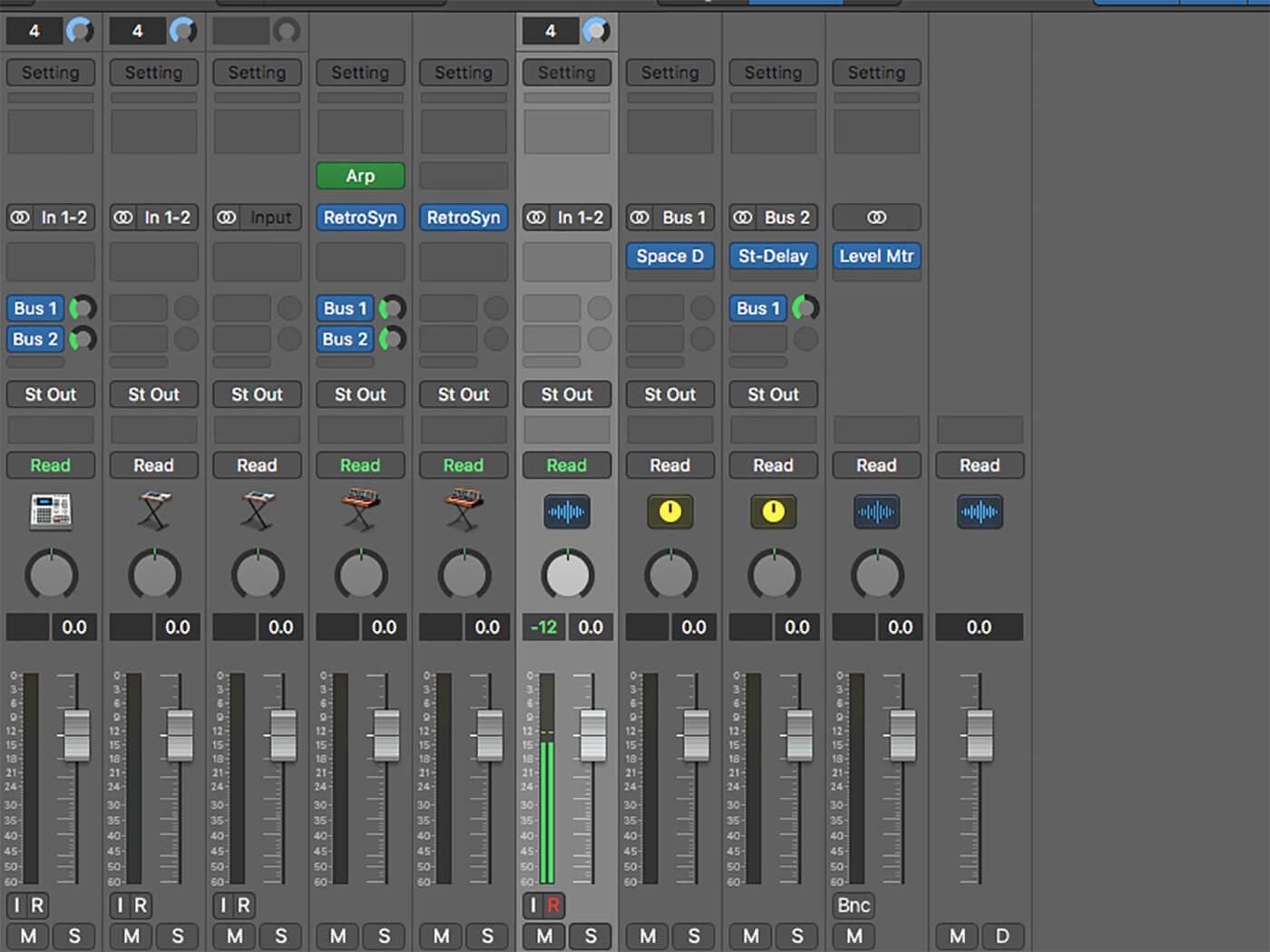 MT 206 Logic Workshop Gain Staging 4