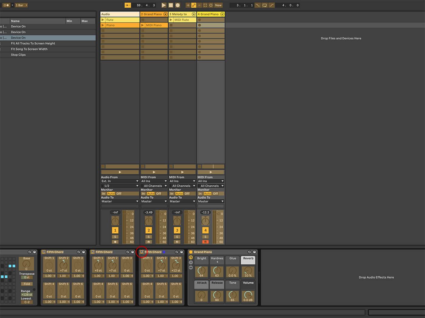 MT 205 Ableton Live Part 12
