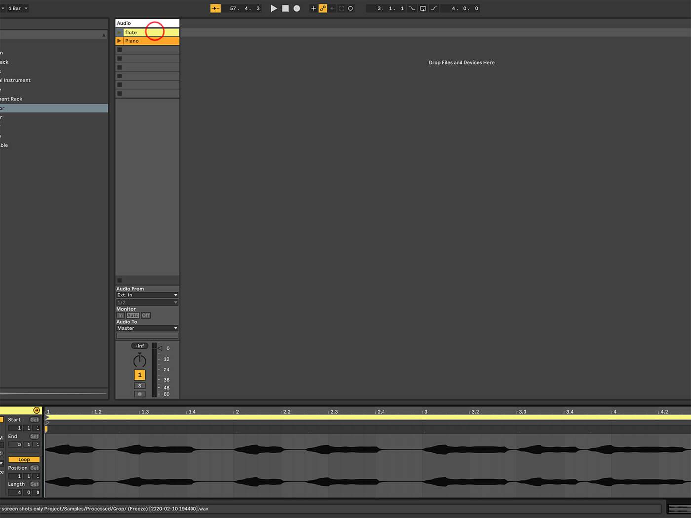 MT 205 Ableton Live Part 1