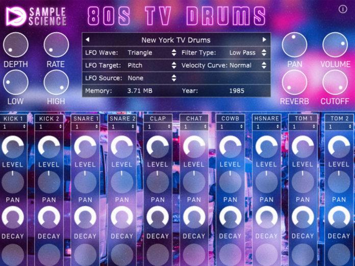 80sTV drums