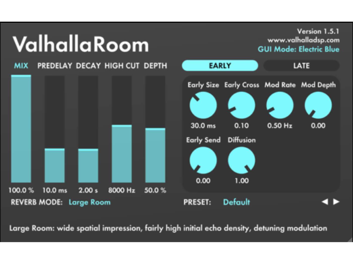 Valhalla DSP - Valhalla Room