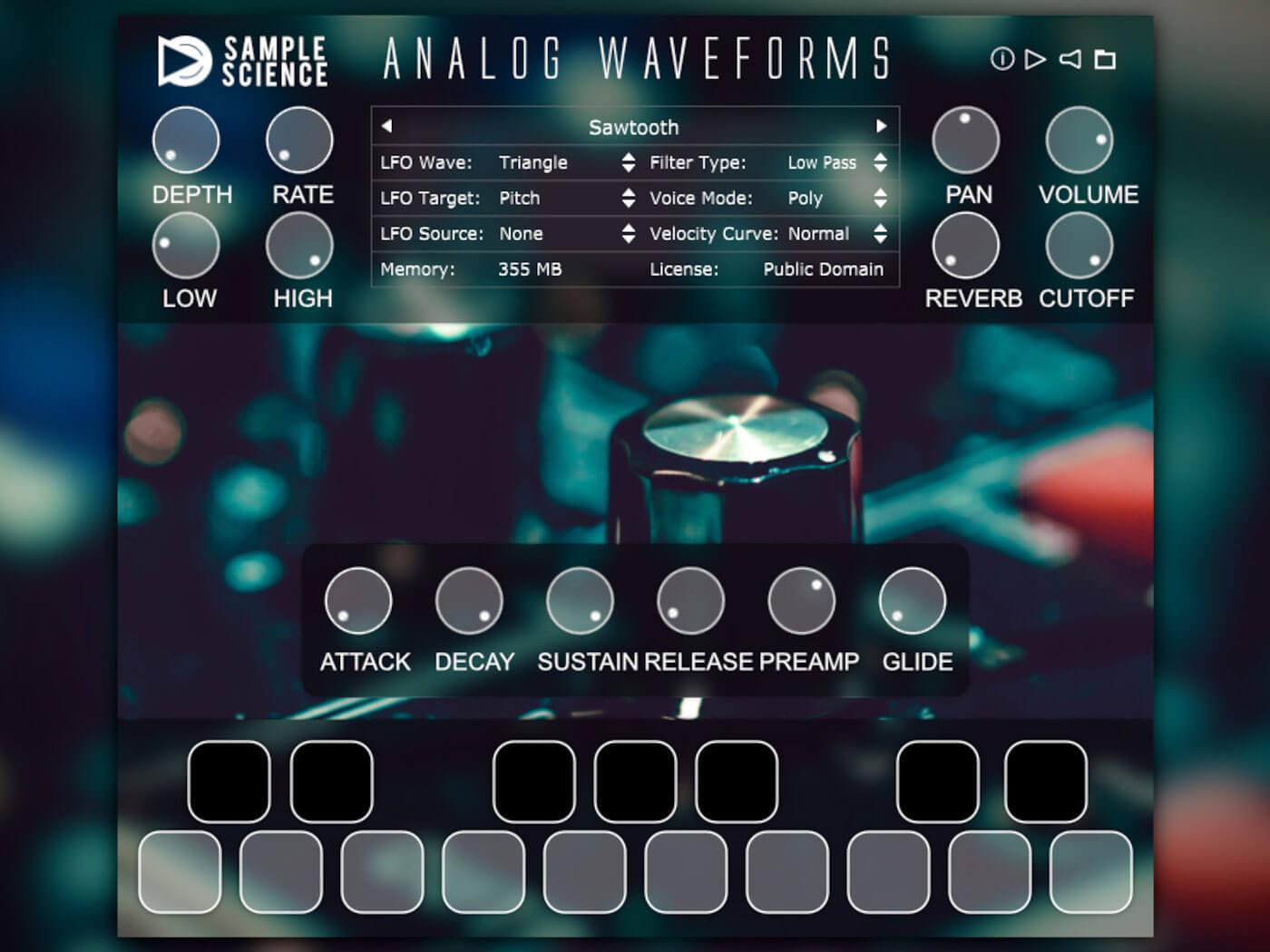 SampleScience AnalogWaveforms