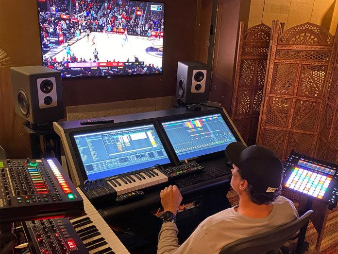 Rony Seikaly studio