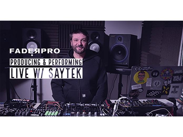 Faderpro Producing and Performing Live w/ Saytek