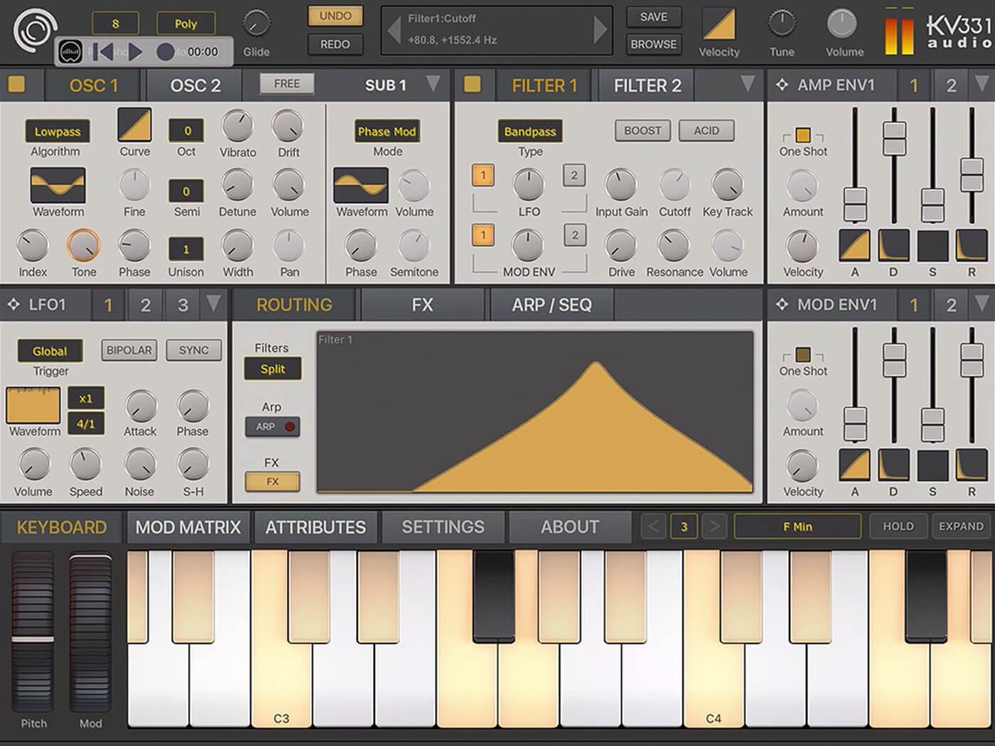 KKV Synthmaster One iOS