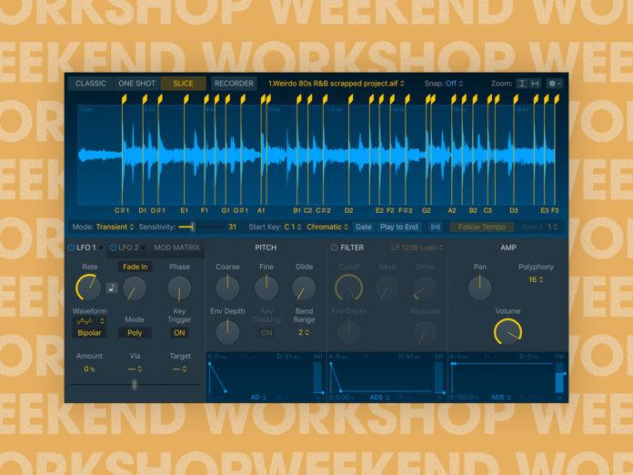 Weekend Workshop 15 May