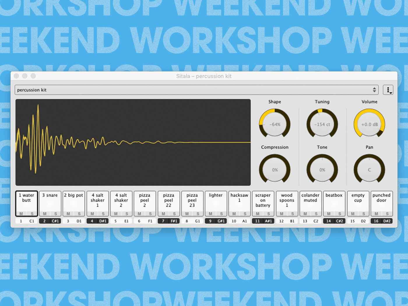 Make a sampled drum kit from objects around the house   MusicTech