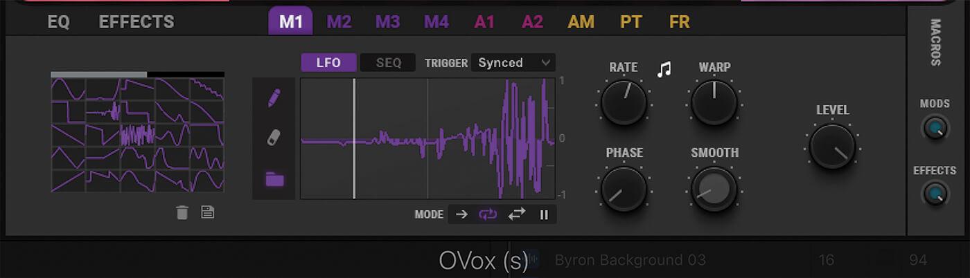 Waves OVox LFO