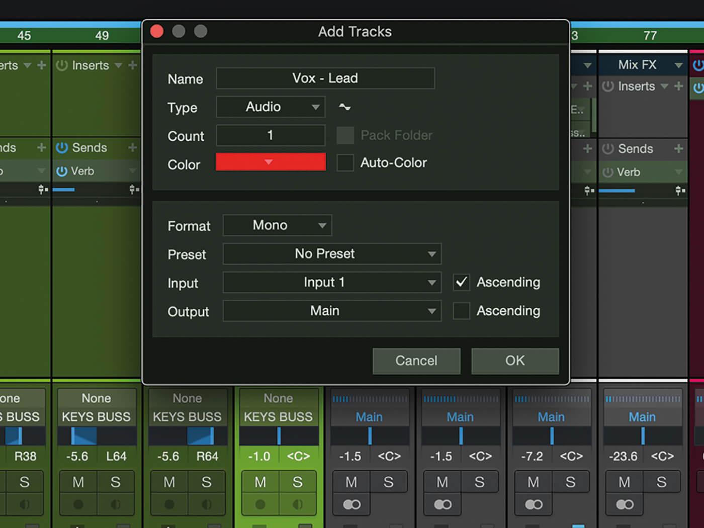 MT207 Studio One Recording Vocals 5