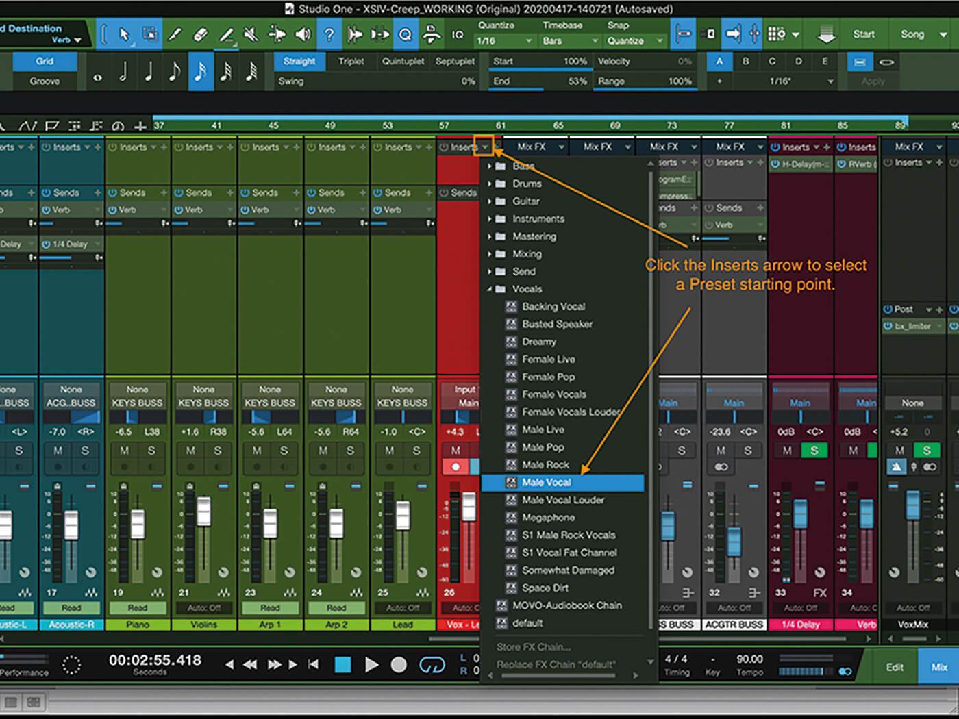MT207 Studio One Recording Vocals 7