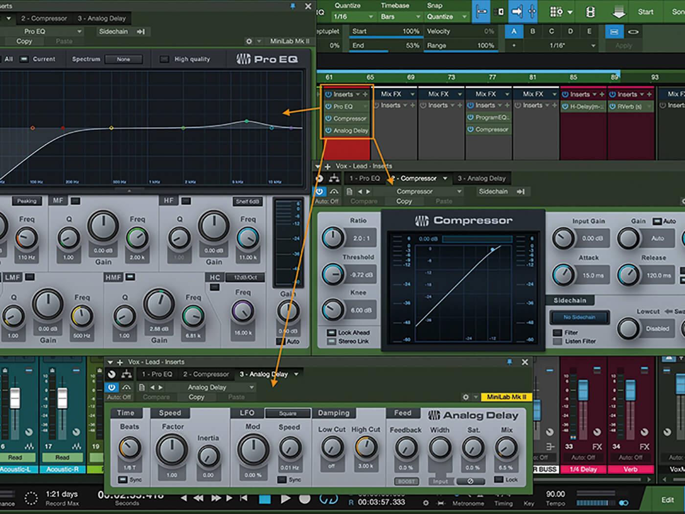 MT207 Studio One Recording Vocals 8