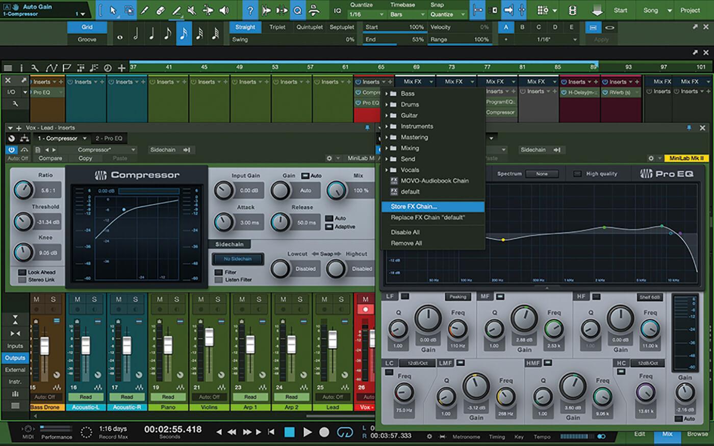 MT207 Studio One Recording Vocals 11