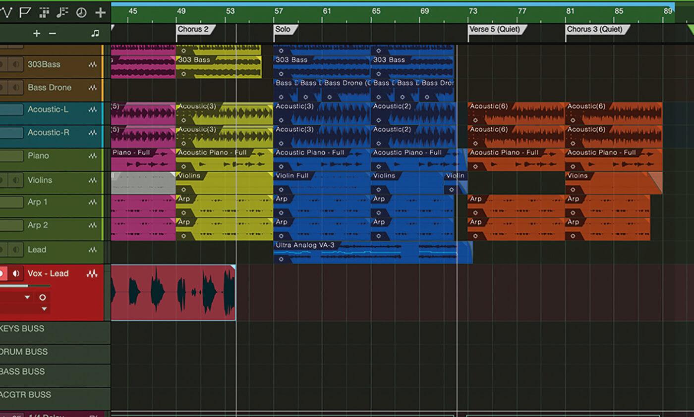 MT207 Studio One Recording Vocals 18